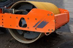 Steamroller Royalty Free Stock Photography