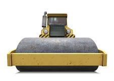 Steamroller ilustración del vector