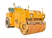 Steamroller isolated Stock Photography