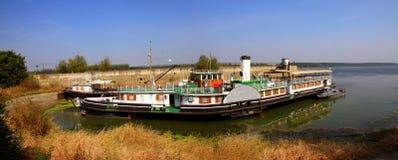 Steamship. Of the Danube River, Bulgaria Stock Photo