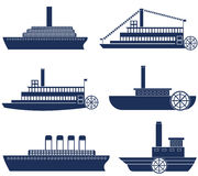 steamship Stockbilder