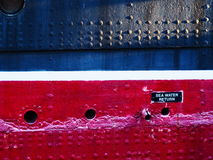 Steamship hull Stock Images