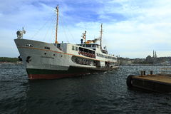 Steamship, istanbul royalty free stock photos