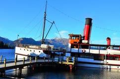 Steamship, Queenstown, New Zealand Stock Image