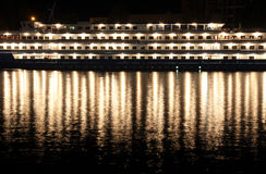 Steamship in Sevastopol bay Stock Photos