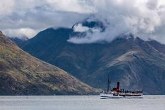 Steamship TSS Earnslaw Zdjęcie Royalty Free