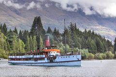 Steamship TSS Earnslaw Royalty Free Stock Photo