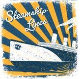 Steamship Royalty Free Stock Photos
