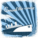 Steamship Royalty Free Stock Photo