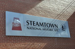 Steamtown National Historic Site Royalty Free Stock Images