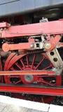 Steamtrain koło Obraz Stock
