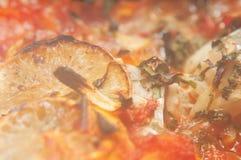 Steamy блюдо рыб стоковое фото rf