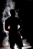 Steamy Sillouette stock images