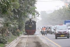 Stean train Stock Image