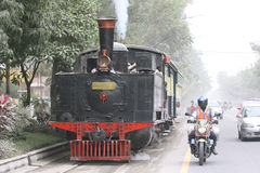 Stean train Stock Images
