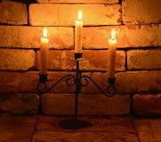 Stearinljus 5 Fotografering för Bildbyråer