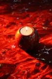 stearinljus för 2 kula Fotografering för Bildbyråer