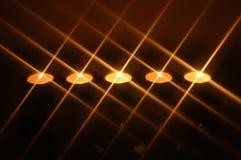 stearinljus fem Arkivfoto