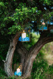 Stearinljus i glass lampor Se mina andra arbeten i portfölj Gifta sig i Monteneg Royaltyfri Fotografi