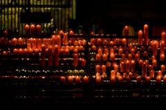 stearinljus kyrktar red Royaltyfri Bild
