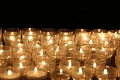 stearinljus lampor candles colorful Fotografering för Bildbyråer