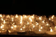 stearinljus lampor candles colorful Royaltyfri Foto