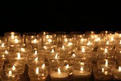 stearinljus lampor candles colorful Royaltyfri Fotografi