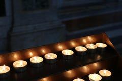 stearinljus lampor candles colorful Royaltyfri Bild