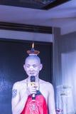 Stearinljus på deras huvud - Sichuan operakapacitet Royaltyfri Fotografi