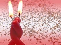 stearinljus par Fotografering för Bildbyråer