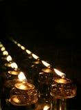 Stearinljus till oändligheten Royaltyfri Bild