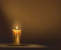 Stearinljusbakgrund Royaltyfria Bilder