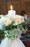 stearinljusbröllop Royaltyfria Foton