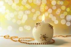 stearinljuschrismas Royaltyfria Bilder