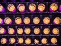 Stearinljusen av abbotskloster Royaltyfri Bild