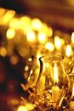 Stearinljuset tänd thai kultur går i den Asalha Puja dagen, den Magha Puja dagen, Visakha Puja Day arkivfoto