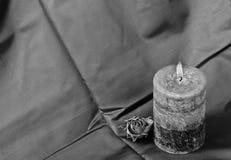 stearinljusförälskelse Fotografering för Bildbyråer