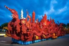 Stearinljusfestival royaltyfria bilder