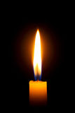 stearinljusflamma Royaltyfria Bilder
