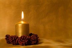 stearinljusjul Royaltyfri Bild