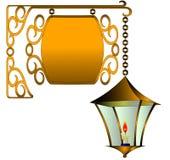 stearinljuslampgata Royaltyfri Foto