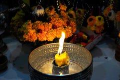 Stearinljusljus Royaltyfria Bilder