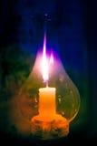 Stearinljusljus Arkivfoton