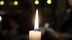 Stearinljusljus Arkivbilder