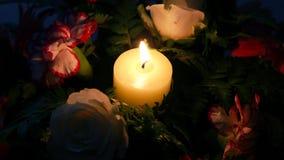 Stearinljusljus Royaltyfri Fotografi