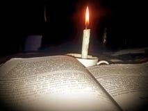 Stearinljusljus royaltyfria foton