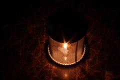 Stearinljuslykta Arkivbild