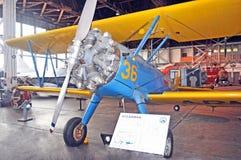 stearman的双翼飞机 库存照片
