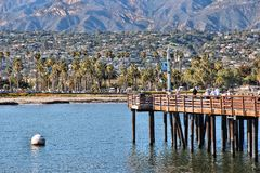 Stearns Wharf, Santa Barbara Stock Photography