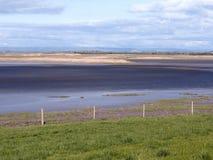 Steart bagna w Somerset zdjęcie stock